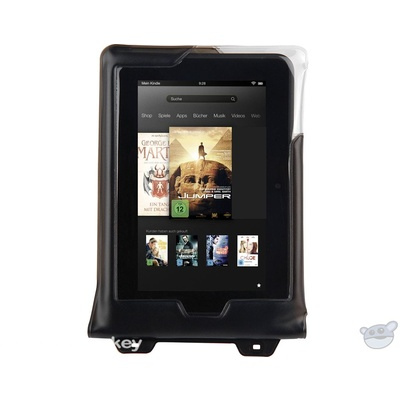 """DiCAPac Waterproof Case for 8"""" Tablets (Black)"""