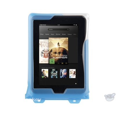 "DiCAPac Waterproof Case for 8"" Tablets (Blue)"