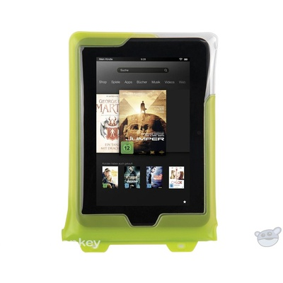 "DiCAPac Waterproof Case for 8"" Tablets (Green)"