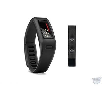 Garmin vivofit Fitness Band with Heart Rate Monitor (Black)