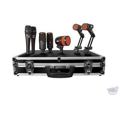 Heil Sound HDK-7 7-Piece Dynamic Drum Microphone Kit