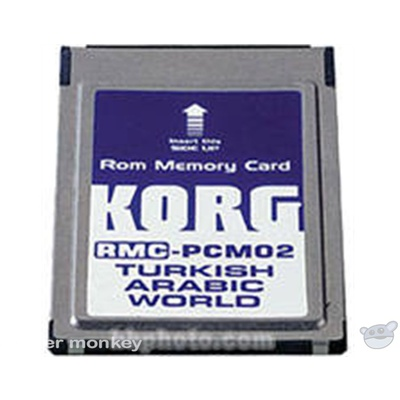 Korg RMC-PCM02 - 8MB ROM Card for the PA-80 - Turkish/Arabic Styles