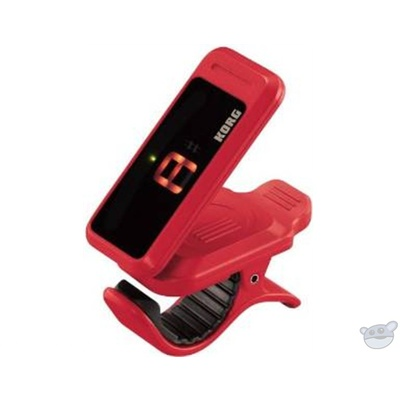 Korg PC1 Pitchclip Headstock Clip-On Tuner (Red)