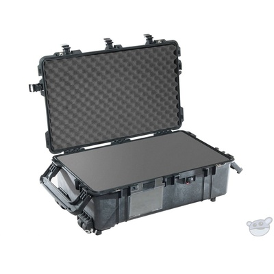 Pelican 1670 Case with Foam (Black)