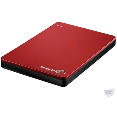 "Seagate 1TB Backup Plus 2.5"" Portable USB3.0 External hdd (Red)"