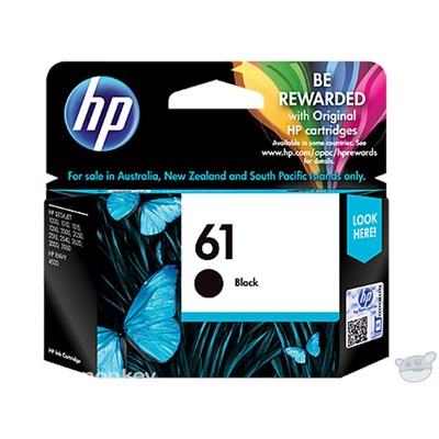 HP 61 Black Original Ink Cartridge (CH561WA)