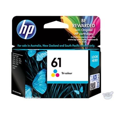 HP 61 Tri-color Original Ink Cartridge (CH562WA)