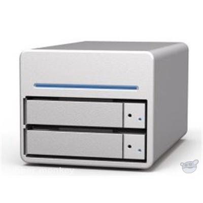 Stardom SohoTank ST2-WB3 2 Bay USB3.0 &  FireWire 800 Drive Storage System