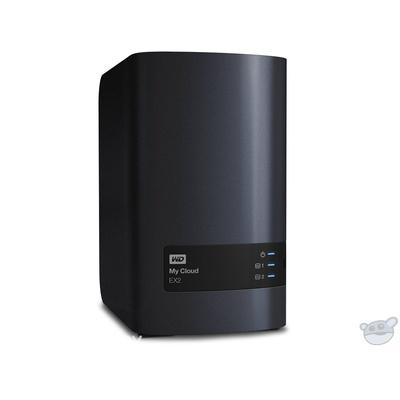 WD 12TB My Cloud EX2 2-Bay Personal Cloud Storage Server