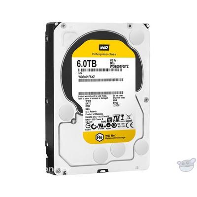 """WD 6TB RE SATA 3.5"""" OEM Hard Drive"""