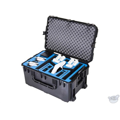 Go Professional Cases Watertight Hard Case with Wheels for DJI Inspire 1 in Landing Mode