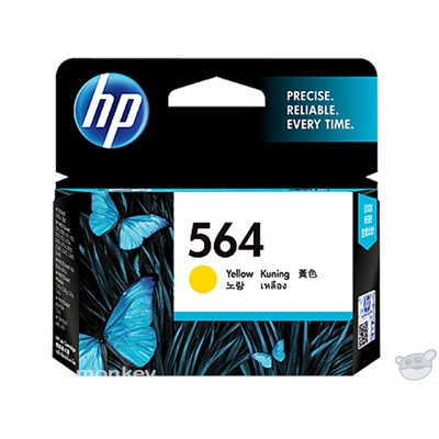 HP 564 Yellow Original Ink Cartridge (CB320WA)