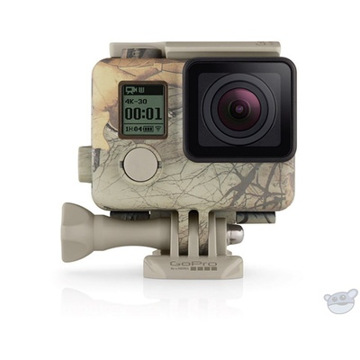 GoPro Camo Housing + QuickClip (Realtree Xtra - Woodland)