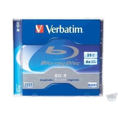 Verbatim Blu-Ray 25GB 1Pk Jewel Case 6x