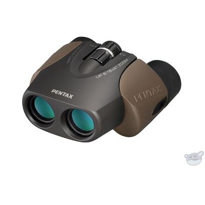 Pentax 8-16x21 U-Series UP Binocular (Brown)