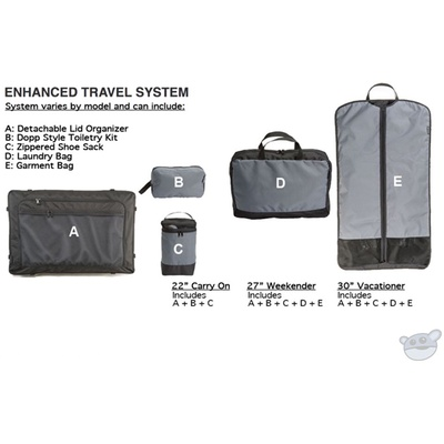 Pelican BA30 Enhanced Travel System