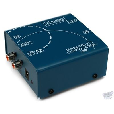 Hosa CDL-313 - Bi-Directional Coaxial S/PDIF to XLR AES/EBU Data Link