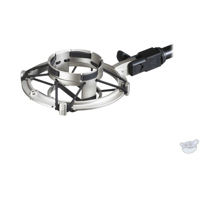Audio Technica AT8449 Shock Mount (Silver)