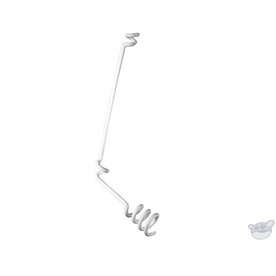 Audio Technica AT8451 Wire Hanger Adapter for Overhead Microphones (White)