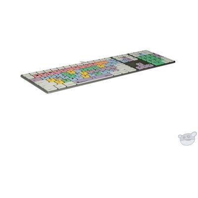 LogicKeyboard Pro Line Final Cut Pro X Ultra-Thin Aluminum Keyboard