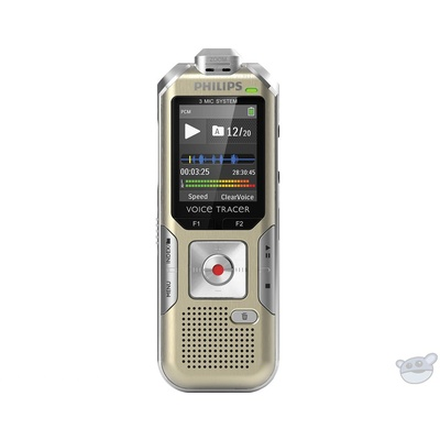 Philips DVT6500 Voice Tracer with 3Mic Recording