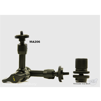 Ikan MA206 6'' Articulating Monitor Arm
