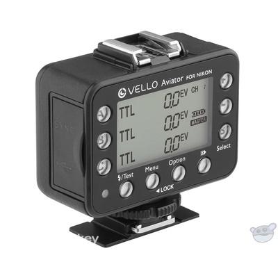 Vello FreeWave Aviator Wireless Flash Trigger Transceiver for Nikon