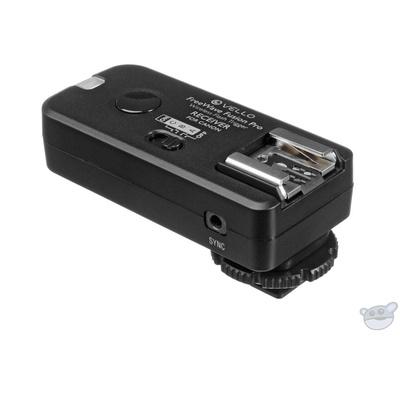 Vello FreeWave Fusion Pro Wireless Flash Receiver / Remote Control for Canon DSLRs