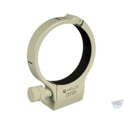 Vello Tripod Collar A (White) for Canon 200mm f/2.8, 70-200mm f/4 & 400mm f/5.6