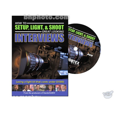 Vortex Media DVD Video: How to Setup, Light and Shoot Great Looking Interviews by Doug Jensen