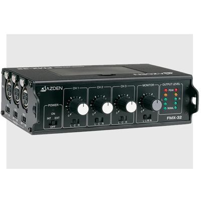 Azden FMX-32 3-channel portable mixer