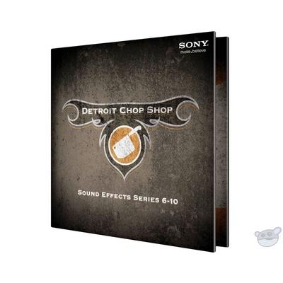 Magix The Detroit Chop Shop Sound Effect Library (Volumes 6-10)