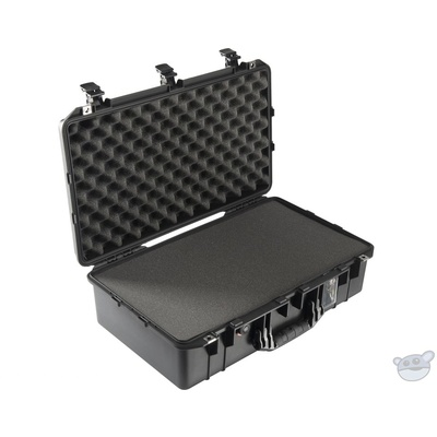 Pelican 1555 Air Carry-On Case (Black, with Pick-N-Pluck Foam)