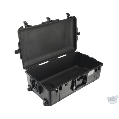Pelican 1615 Air Wheeled Check-In Case (Black, No Foam/Empty)