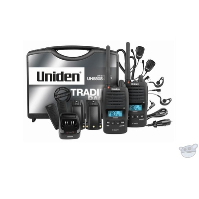 Uniden UH850S-2TP  Tradesmans Twin Pack version of UH850S