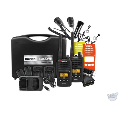 Uniden UH820S-2TP Tradesmans Twin Pack version of UH820S
