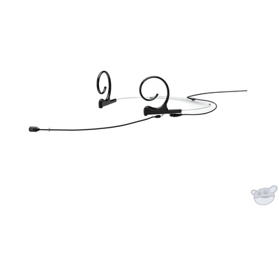 DPA Microphones d:fine 88 Dual-Ear Directional Headset Mic and MicroDot Hardwired Connector (Black)