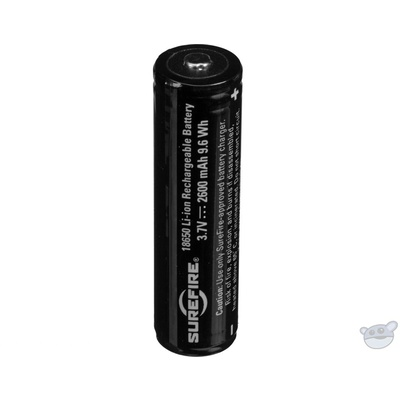 SureFire 18650 Protected Li-Ion Rechargeable Battery (2600mAh)