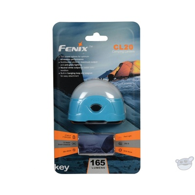 Fenix Flashlight CL20 Dual-Color LED Camping Lantern (Sky Blue)