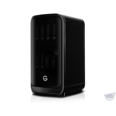 G-Technology G-SPEED Studio XL 24TB(6 x 4TB) Eight-Bay Thunderbolt 2 RAID Array, 2 ev Bay Adapters