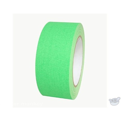Stylus 511 Neon Green Gaffer Tape - 48mm x 45m