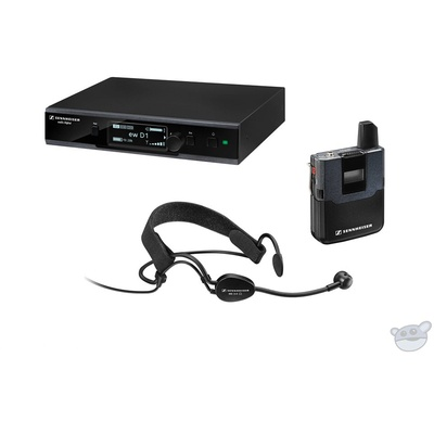 Sennheiser EW D1 ME3 Digital Wireless Headworn Mic Set with ME 3-II Headworn Microphone