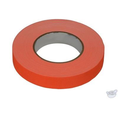 Stylus 511 Neon Orange Gaffer Tape - 24mm x 45m