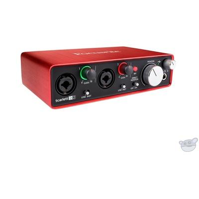 Focusrite Scarlett 2i2 USB Audio Interface (2nd Gen)