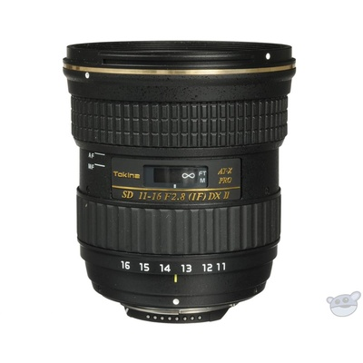 Tokina AT-X 116 PRO DX-II 11-16mm f/2.8 Lens for Nikon F