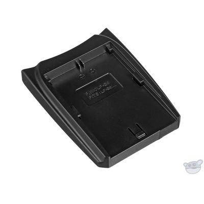 Luminos Battery Charger Adapter Plate for Canon LP-E6