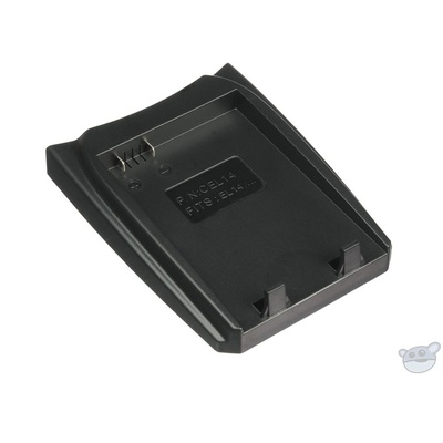 Luminos Battery Charger Adapter Plate for Nikon EN-EL14/14A