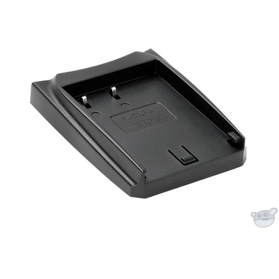Luminos Battery Charger Adapter Plate for Panasonic DMW-BLF19 Battery