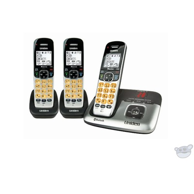 Uniden DECT3236+2 Premium Triple Handset Cordless Phone