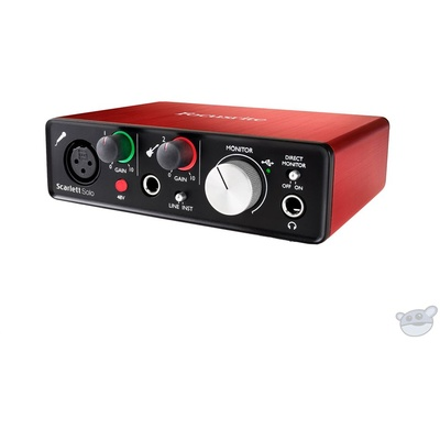 Focusrite Scarlett Solo USB Audio Interface (2nd Generation)